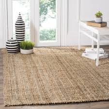 Painting A Jute Rug Safavieh Casual Natural Fiber Hand Woven Natural Accents Chunky