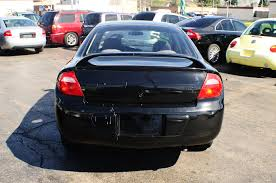 2003 dodge neon black 4dr sedan used car