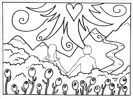 coloring pages adam and eve wonderful best adam and eve coloring page wallpaper outstanding