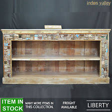 Recycled Timber Bookshelf Rustic Primitive Multi Colour Handmade Sideboards U0026 Buffets Ebay