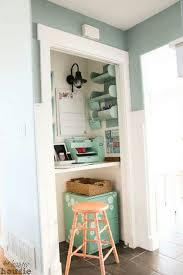 le petit bureau 9 idées pour réorganiser espace en customisant placard des
