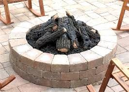 gas log fire pit table gas fire pit logs outdoor new 30 charred cfire log set with 1