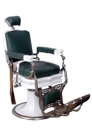 Old Barber Chair Koken Antique Barber Chair Circa 1920 Porcelain Base With Chrome