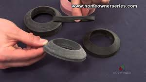 Eljer Toilet Repair Parts How To Fix A Toilet Parts Sponge Gasket Youtube