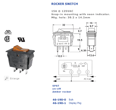 lighted rocker switch 12v lighted toggle switch wiring diagram heater rocker present visualize