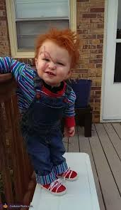 chucky costume toddler chucky baby diy costume idea