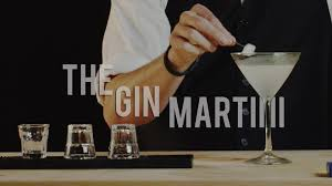 how to make the gin martini best drink recipes youtube
