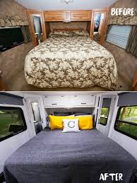 Camper Interior Decorating Ideas by 27 Rv U0026 Camper Van Remodel Hacks Interior Decor Ideas U2013 Design