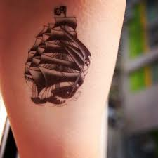 45 pirate ship tattoos ideas
