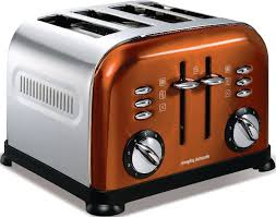 Morphy Richards Toaster Cream Buy Morphy Richards 44744 Accents Copper 4 Slice Toaster Marks