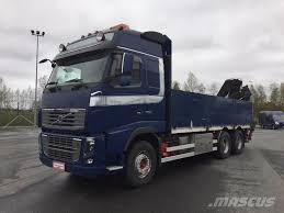 volvo trucks holland used volvo fh16 700 6x4 hiab 195 3 flatbed dropside year 2010