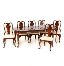 Mahogany Dining Room Furniture Pennsylvania Classics Inc Mahogany Dining Room Table With Chairs