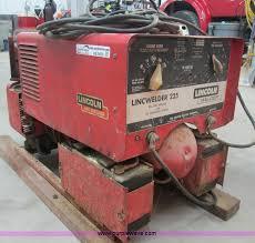 lincoln lincwelder 225 welder generator item ab9430 sold