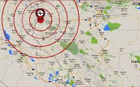 map iran iraq 129 dead as magnitude 7 3 quake hits iran iraq border northbound