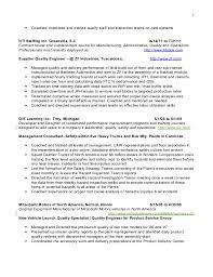 software qa manager resume sample quality engineer job description software quality assurance