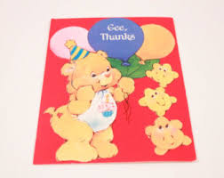 care bear birthday etsy