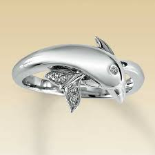 dolphin engagement ring dolphin engagement and wedding ring setting engagement rings