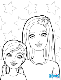 barbie and her sister coloring pages hellokids com