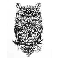 cheap owl tattoo designs free shipping owl tattoo designs under