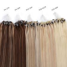 micro ring extensions china micro ring hair extensions color various length are