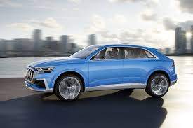 stunning audi q8 concept will morph into an suv coupe flagship in