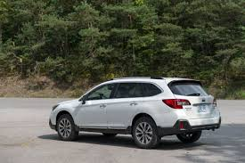 dark blue subaru outback 2018 subaru outback review first drive a refresh with major updates