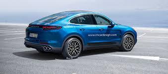 Porsche Panamera Coupe - porsche cayenne coupe rendering puts panamera on stilts ozvag