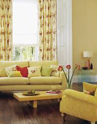 living room decorating with sunny yellow paint colors color black