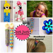 make loom band hair pins 194 best rubber band fun images on pinterest bricolage loom