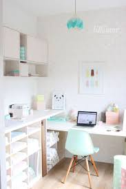 White Shabby Chic Bookcase by Home Office Girly Home Office Mediterranean Desc Exercise Ball