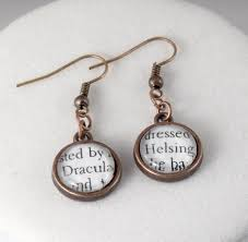 sted jewelry dracula and helsing earrings pairs literary jewelry
