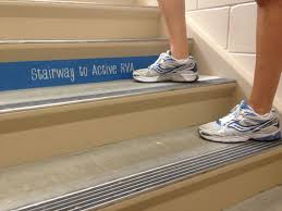 stairwell signs active rva