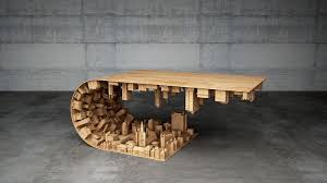themed coffee table this inception themed coffee table turns fiction into reality pics