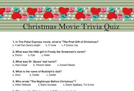 printable trivia quiz
