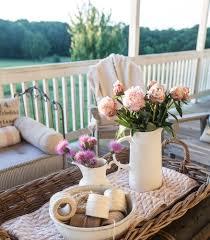 country french summer porch decorating cedar hill farmhouse