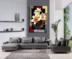 1 pieces modern canvas painting flowers home decoration wall art