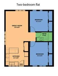 Floor Plans For Flats Download Two Bedroom Flat Plan Waterfaucets