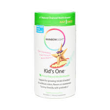 Prenatal One Rainbow Light Kids One Multivitamin By Rainbow Light Thrive Market