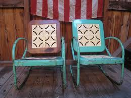 Antique Metal Patio Chairs Vintage Metal Patio Chairs Blue Decorate Vintage Metal Patio