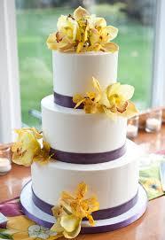 cakeworks hawaii cake bakers simple white and purple wedding