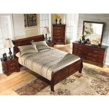 Louis Philippe Sleigh Bed Alisdair Queen Sleigh Bed B376 96 B376 81 Signature Design By Ashley