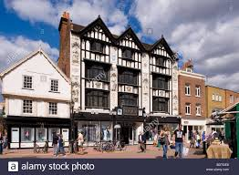tudor style house on market place kingston upon thames surrey