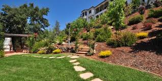 Backyard Slope Landscaping Ideas Gorgeous Landscaping Ideas For Slopes Landscaping Ideas For