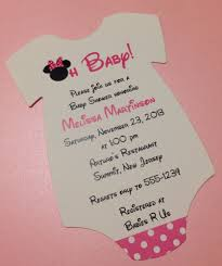 baby minnie mouse invitations baby shower s l1000 baby shower diy