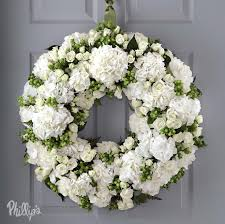 wedding wreaths vera wang wedding flowers collection at phillip s flowers serving