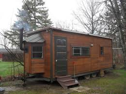 kerry u0027s tiny house on wheels built in his backyard one floor plan