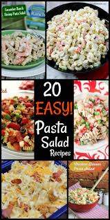 20 easy pasta salad recipes the salty pot