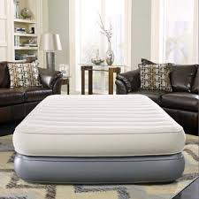 Most Comfortable Inflatable Bed Air Comfort Queen Size Raised Air Mattress With Internal Pump