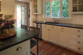 How To Care For Soapstone Countertops Blue Sandstone Countertops Traditional Kitchen Blue Pearl