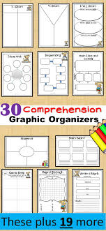 Reading Response Sheets for Any Book 30 Graphic Organizers